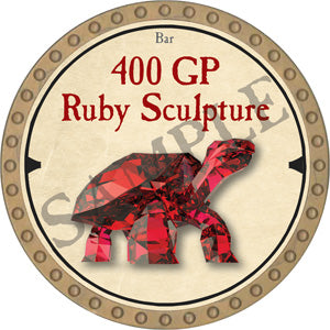 400 GP Ruby Sculpture