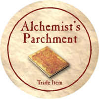 True Dungeon Alchemist's Parchment Token