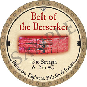 Belt of the Berserker