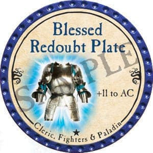 Blessed Redoubt Plate True Dungeon Token