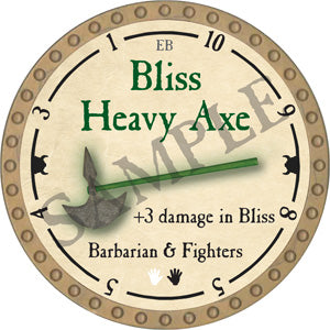 Bliss Heavy Axe