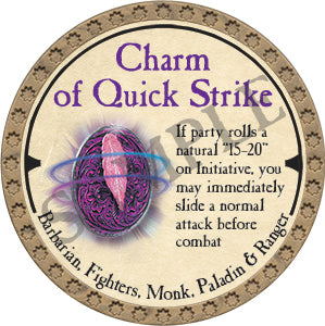 Charm of Quick Strike