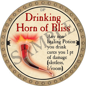 Drinking Horn of Bliss