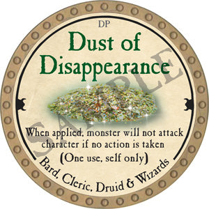 Dust of Disappearance