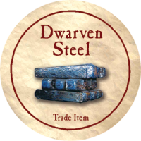True Dungeon Dwarven Steel Token