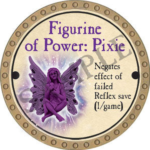 Figurine of Power: Pixie ONXY