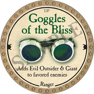 Goggles of the Bliss