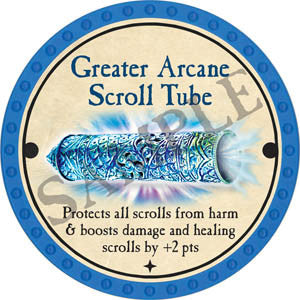 Greater Arcane Scroll Tube