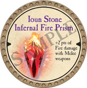 Ioun Stone Infernal Fire Prism