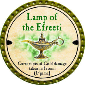 Lamp of the Efreeti