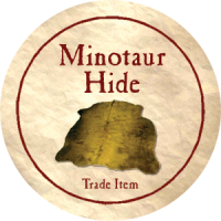 True Dungeon Minotaur Hide Token