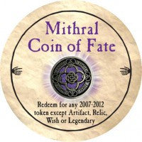 True Dungeon Mithral Coin of Fate Token
