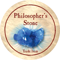 True Dungeon Philosopher's Stone Token