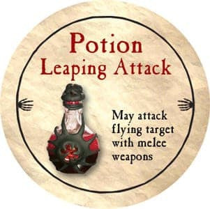 Potion Leaping Attack