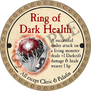 Ring of Dark Health