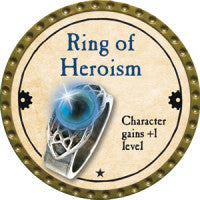 True Dungeon Ring of Heroism Token