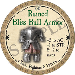 Ruined Bliss Bull Armor