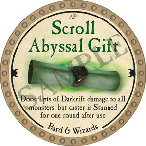 Scroll Abyssal Gift