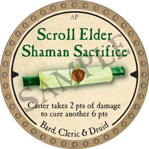 Scroll Elder Shaman Sacrifice