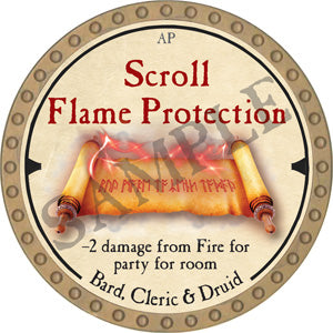 Scroll Flame Protection