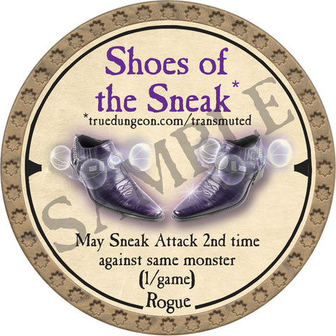Shoes of the Sneak