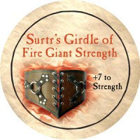 True Dungeon Surtr's Girdle of Fire Giant Strength Token