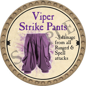 Viper Strike Pants - ONYX