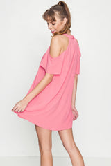 Sweetest Cold Shoulder Dress