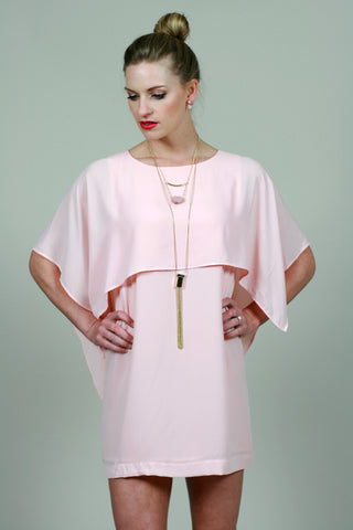 Pale Pink Dress - Never Naked Boutique