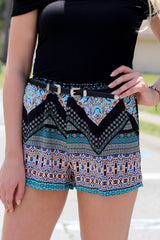 Assets and Aztec Shorts - Never Naked Boutique