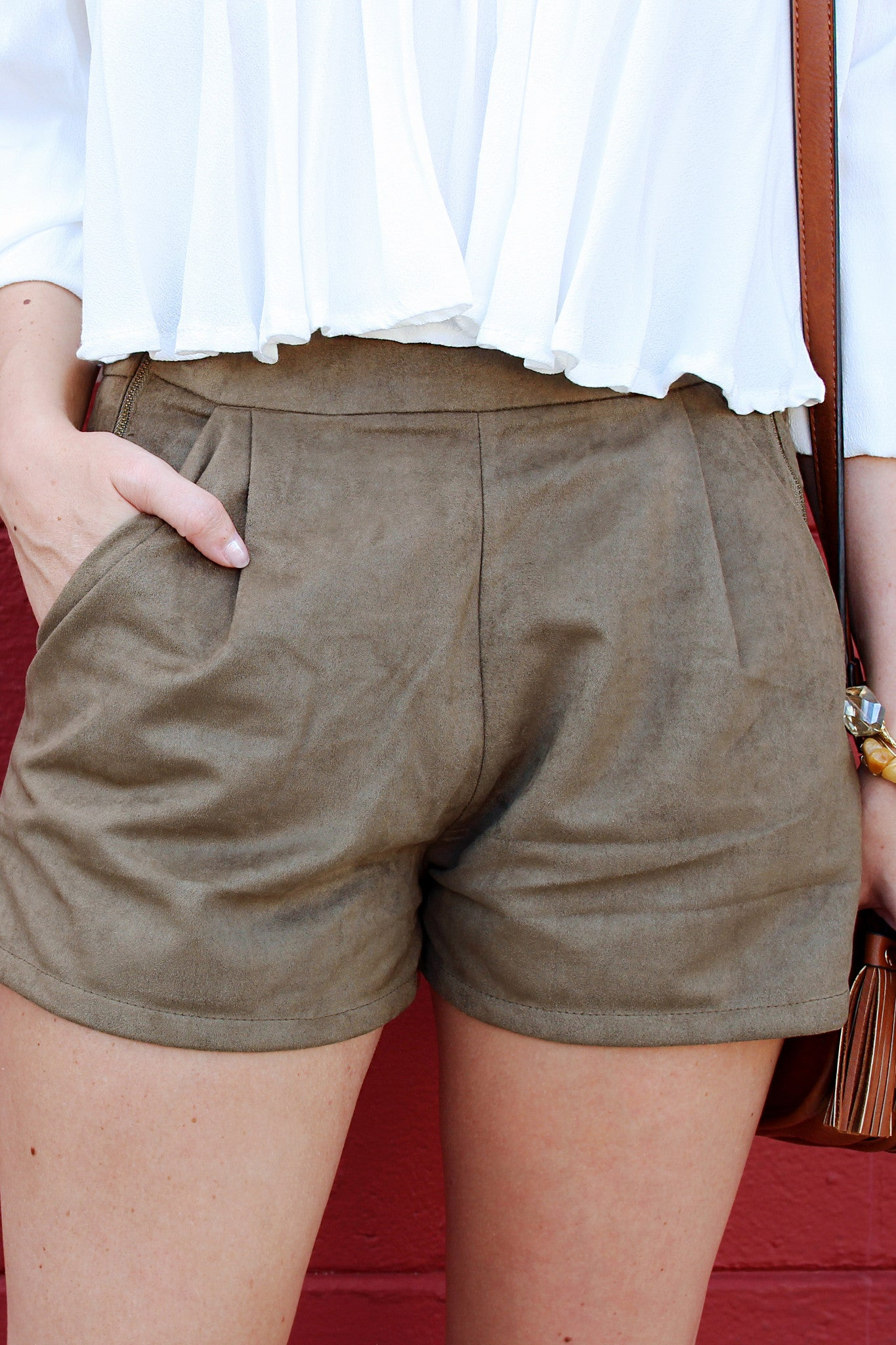 Olive In My Martini Shorts - Never Naked Boutique
