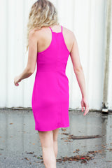Perfectly Pink Dress - Never Naked Boutique