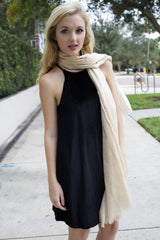 Black Velvet Dress - Never Naked Boutique