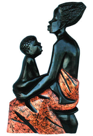 Mother and Child Seated
