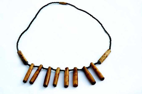 Barrel Bone Necklace