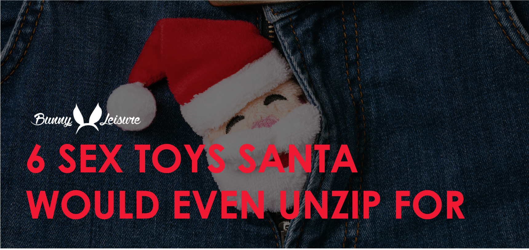 6 Sex Toys Santa Would Unzip For!