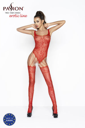 Bodystocking BS034 Red
