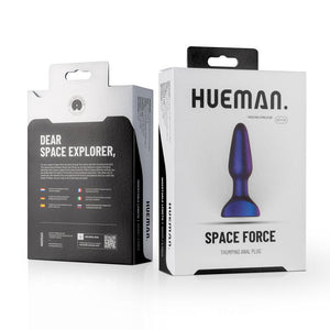 Space Force Vibrating Anal Plug