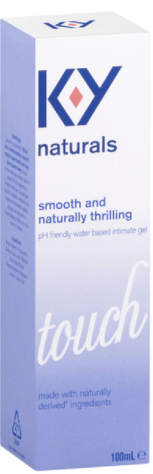 K-Y Naturals Touch Intimate Gel (100mL)