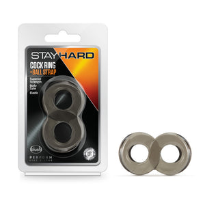 Stay Hard Cock Ring and Ball Strap