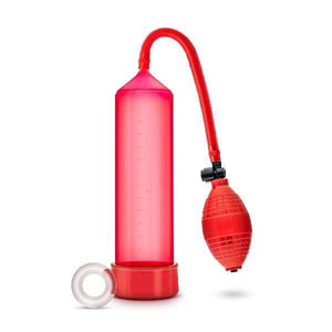 Blush Adult Toys Performance VX101 Male Enhancement Pump Red