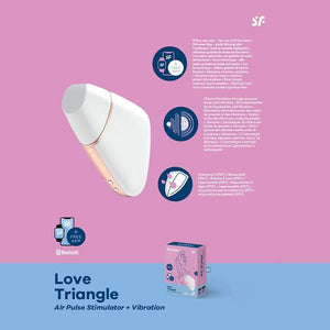 Bunny Leisure Adult Centre Stimulators - Premium Satisfyer Love Triangle