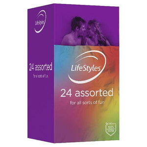 LifeStyles Lotions & Potions LifeStyles Assorted Condoms 24