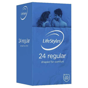 LifeStyles Lotions & Potions LifeStyles Regular Condoms 24