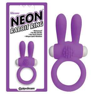 Neon Rabbit Ring - Bunny Leisure Adult  Centre