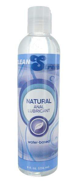 XR Brands Lotions & Potions Natural Water Based Anal Lube 8oz/236ml