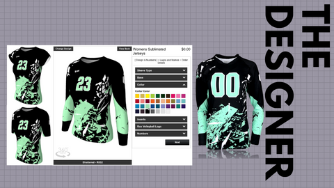 DESIGN YOUR VOLLEYBALL JERSEY