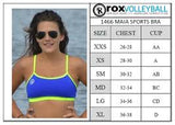 Maia Top  | 1466 | Royal/Radiance,Beach Tops - Rox Volleyball