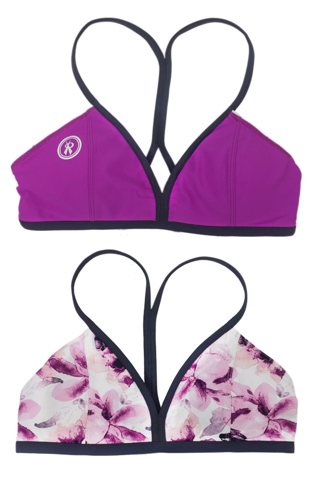 Mystify Performance Top | Gypsy Garden/Gypsy/Titanium Straps,Beach Tops - Rox Volleyball