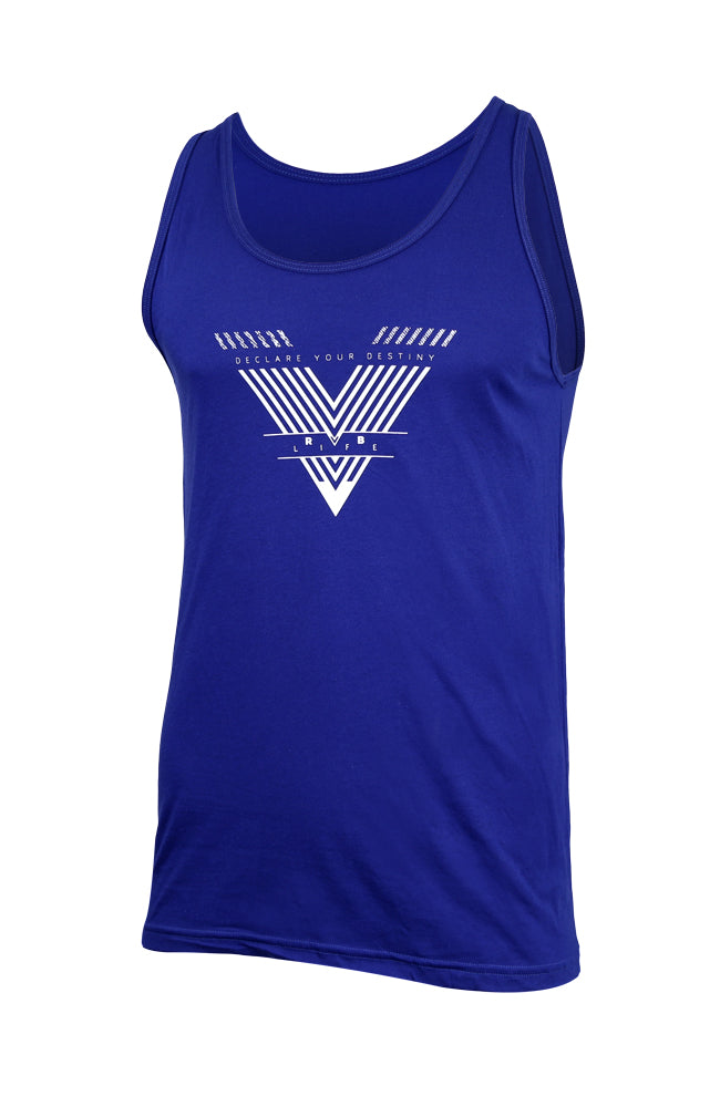 Declare Your Destiny RVB Mens Slim Tank,Tank Top - Rox Volleyball